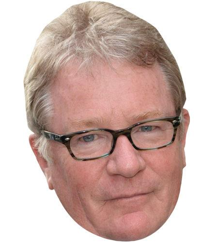 A Cardboard Celebrity Mask of Jim Davidson