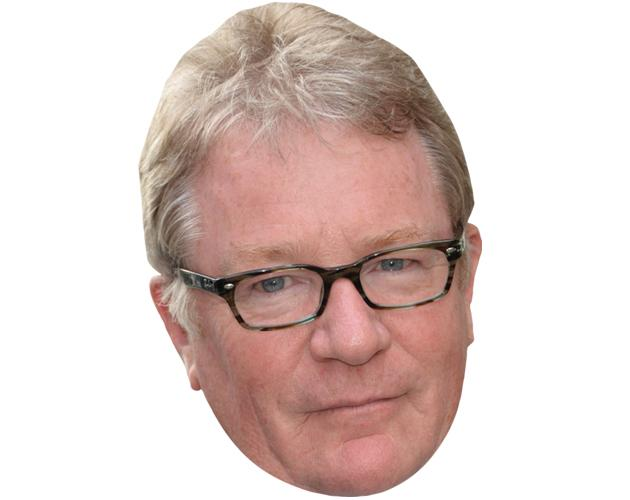 A Cardboard Celebrity Mask of Jim Davidson