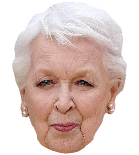 A Cardboard Celebrity Mask of June Whitfield