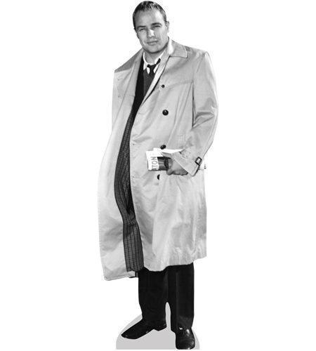 A Lifesize Cardboard Cutout of Marlon Brando