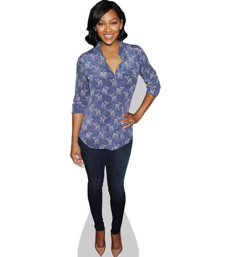 A Lifesize Cardboard Cutout of Meagan Good