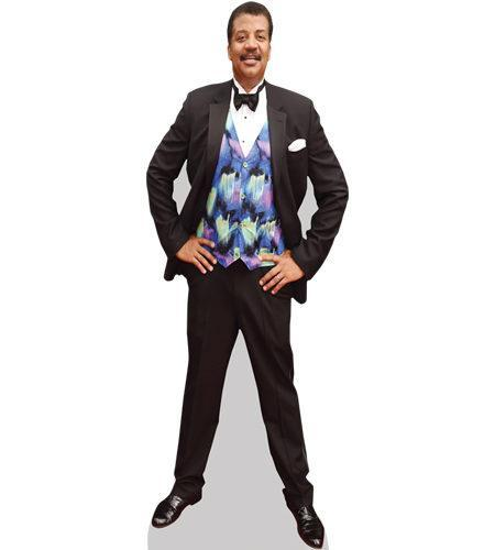 A Lifesize Cardboard Cutout of Neil Degrasse Tyson