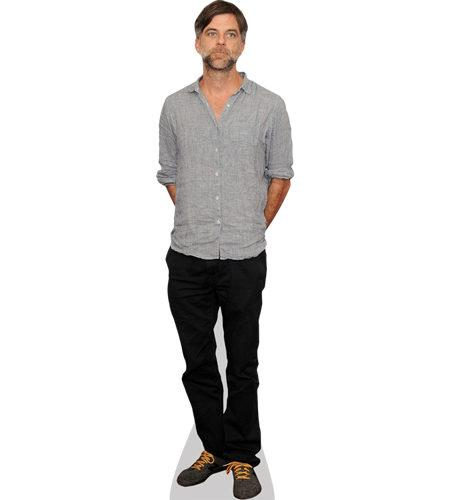 A Lifesize Cardboard Cutout of Paul Anderson wearing jeans
