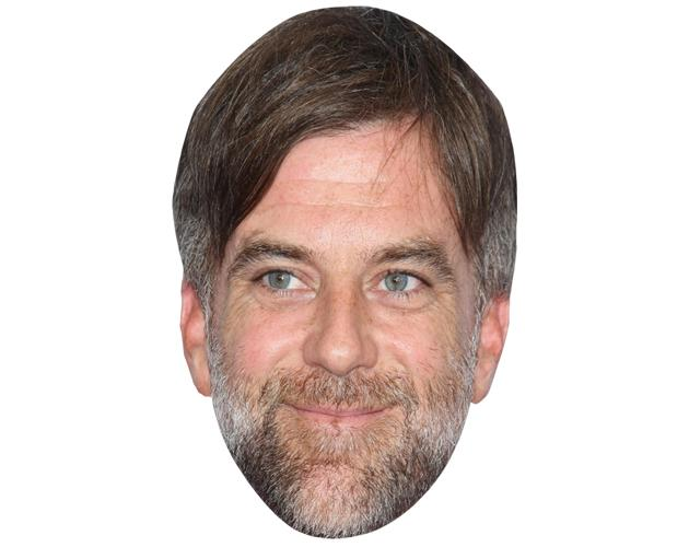A Cardboard Celebrity Mask of Paul Anderson