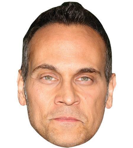 A Cardboard Celebrity Big Head of Todd Stashwick