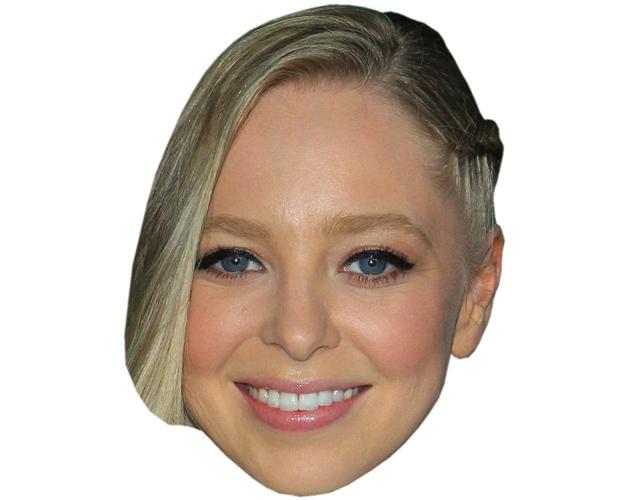 A Cardboard Celebrity Mask of Portia Doubleday