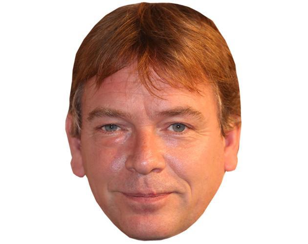 A Cardboard Celebrity Mask of Adam Woodyatt