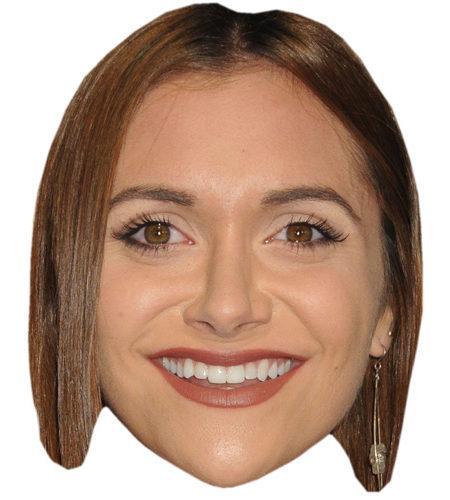 A Cardboard Celebrity Big Head of Alyson Stoner