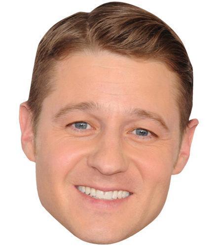 A Cardboard Celebrity Mask of Ben McKenzie