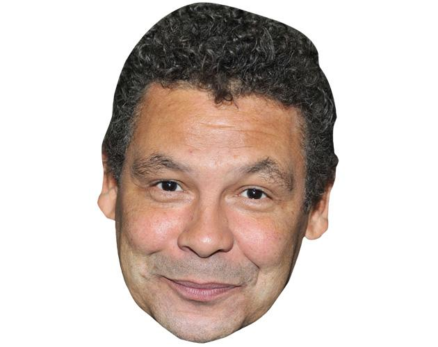 ACardboard Celebrity Mask of Craig Charles