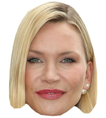 A Cardboard Celebrity Big Head of Natasha Henstridge
