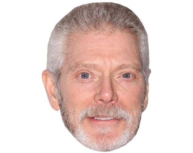 A Cardboard Celebrity Mask of Stephen Lang