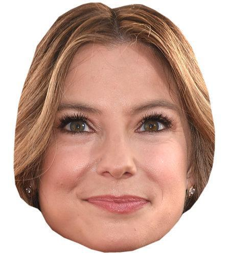 A Cardboard Celebrity Mask of Sugar Lyn Beard