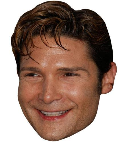 A Cardboard Celebrity Big Head of Corey Feldman