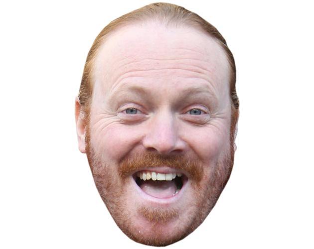 A Cardboard Celebrity Mask of Keith Lemon (2016)