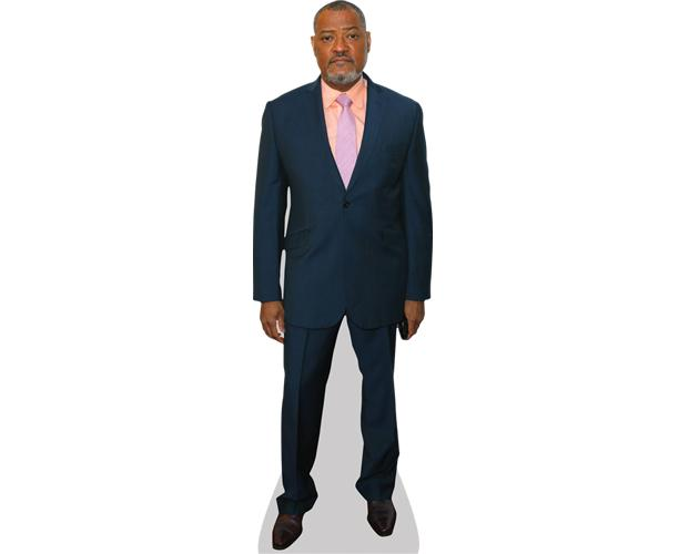 A Lifesize Cardboard Cutout of Laurence Fishburne