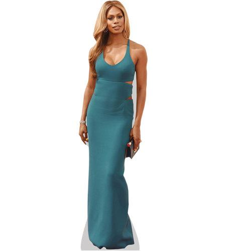 A Lifesize Cardboard Cutout of Laverne Cox