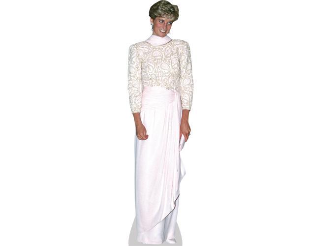 A Lifesize Cardboard Cutout of Princess Diana