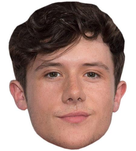 A Cardboard Celebrity Big Head of Ryan Lawrie