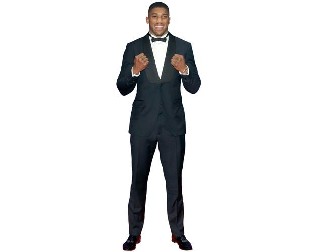 A Lifesize Cardboard Cutout of Anthony Joshua