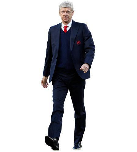A Lifesize Cardboard Cutout of Arsene Wenger