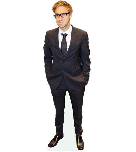 A Lifesize Cardboard Cutout of Russell Howard
