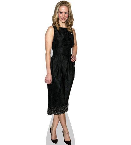 Sarah Paulson (Black Dress)