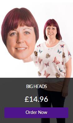 Card Cutout Big Head