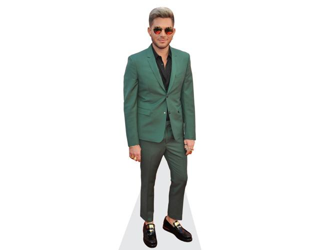 Adam Lambert (Green Suit)