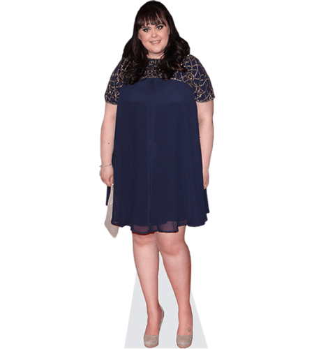 Sharon Rooney (Blue Dress)